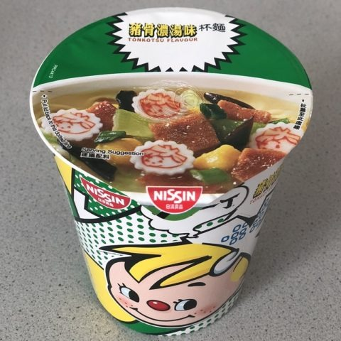 """#1374: Nissin Cup Noodles """"Demae Iccho Tonkotsu Flavour"""""""