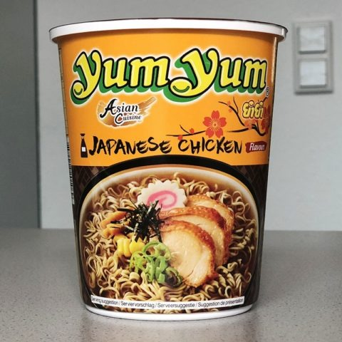 "#1375: YumYum Asian Cuisine ""Japanese Chicken Flavour"" Cup"