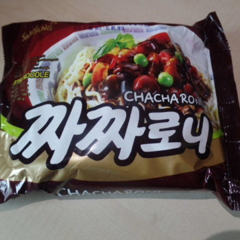 """#1382: Samyang """"Chacharoni"""" (Chinese Soybean Paste Stir Noodle)   (Update 2021)"""