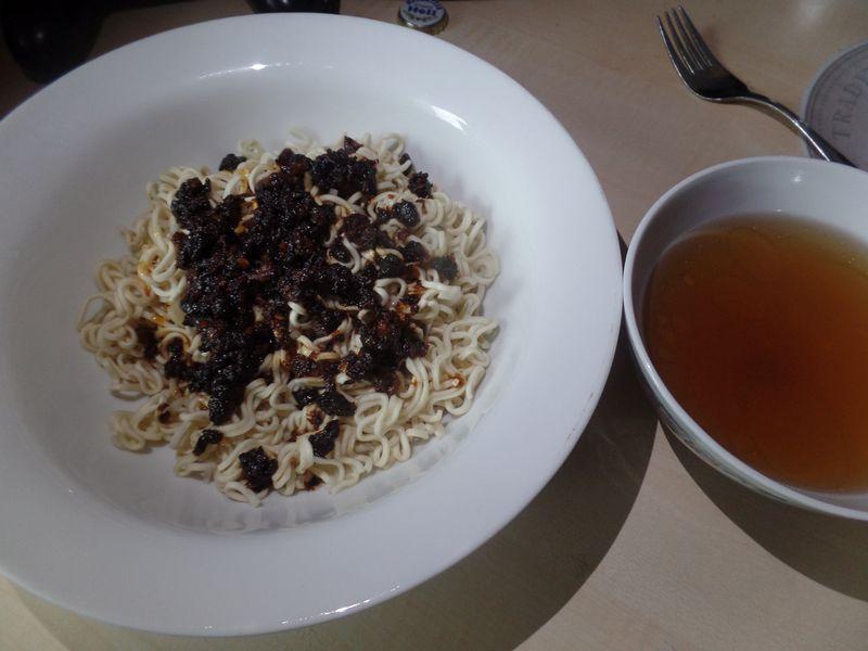 "#1383: JoyShare Instant Noodles ""Black Beans YiBinRanMian"""