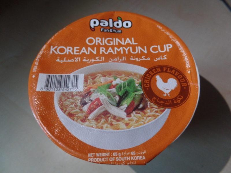 """#1394: Paldo Original Korean Ramyun Cup """"Chicken Flavour"""""""