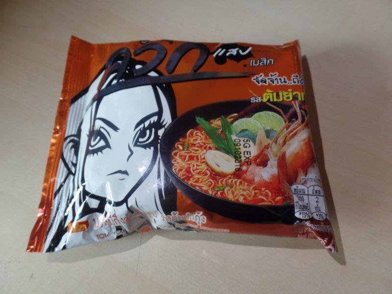 """#1396: Wai Wai Instant Noodles """"Tom Yum Shrimp Flavour"""" (Hot & Sour)"""