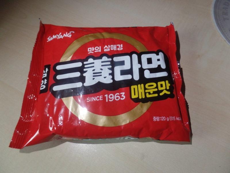 "#1410: Samyang ""Spicy Ramyeon Since 1963"""