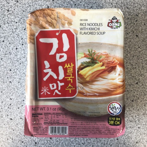 "#1417: Rhee Bros. Assi Brand ""Rice Noodles with Kimchi flavoured Soup"""