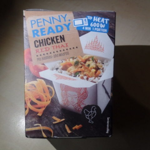 "#1421: Penny. Ready ""Chicken Red Thai"""