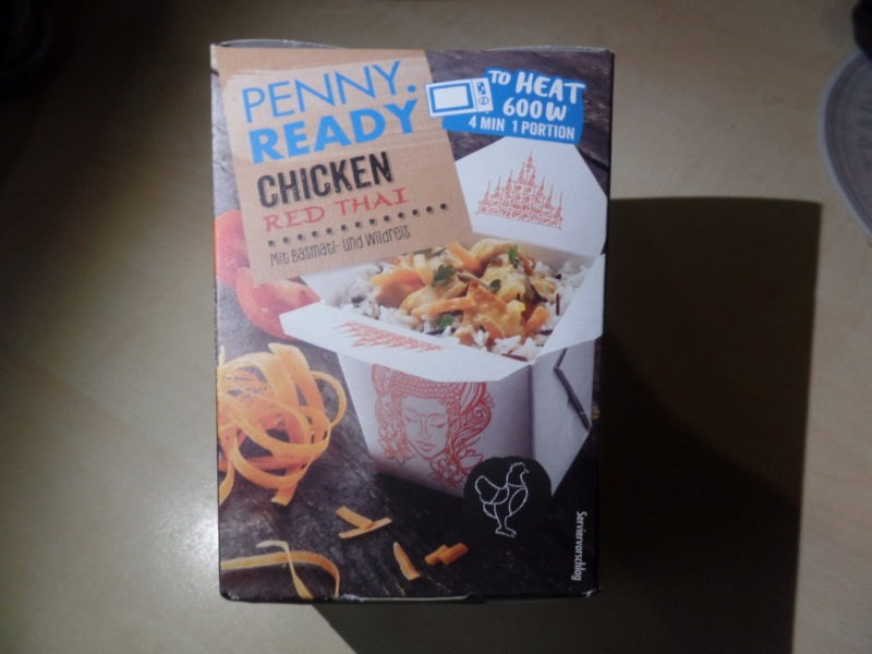 """#1421: Penny. Ready """"Chicken Red Thai"""""""