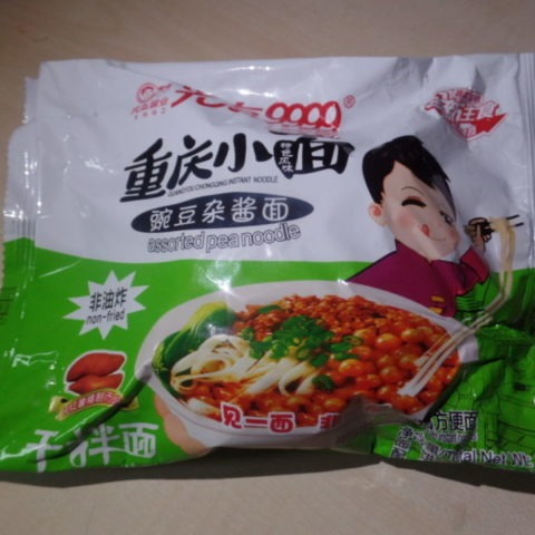 "#1422: Sichuan Guangyou ""Chongqing Instant Noodle"" (Assorted Pea Noodle)"