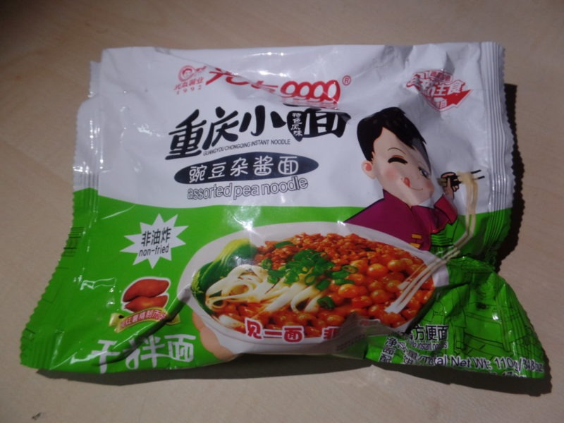 """#1422: Sichuan Guangyou """"Chongqing Instant Noodle"""" (Assorted Pea Noodle)"""