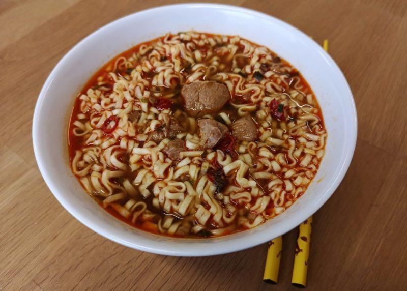 """#1426: Uni-President  """"Man Han Feast Chilli Pork Flavor Instant Noodles"""""""