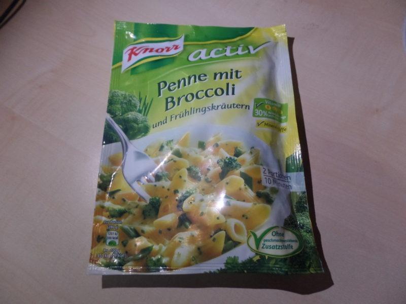 "#1432: Knorr activ ""Penne mit Broccoli und Frühlingskräutern"""