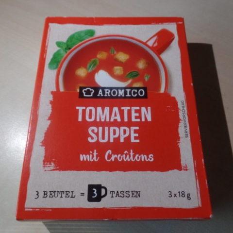 "#1436: Aromico ""Tomaten Suppe mit Croûtons"""