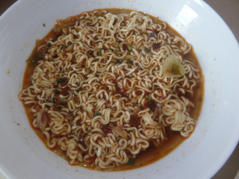 """#1445: Unif 100 Instant Noodles """"Artificial Roasted Beef Flavor"""" (Update 2021)"""