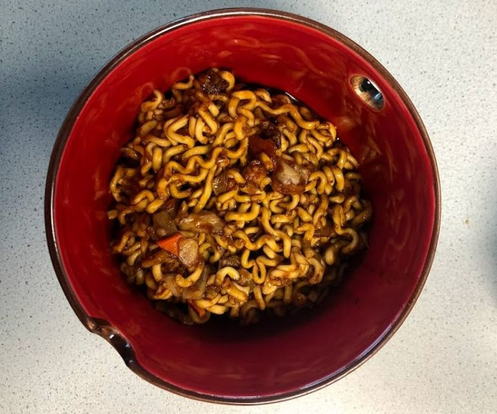 "#1451: Samyang ""Jjajang HOT Chicken Flavor Ramen"""