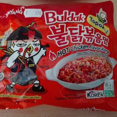 "#1591: Samyang ""Buldak Topokki Hot Chicken Flavor Ramen"""