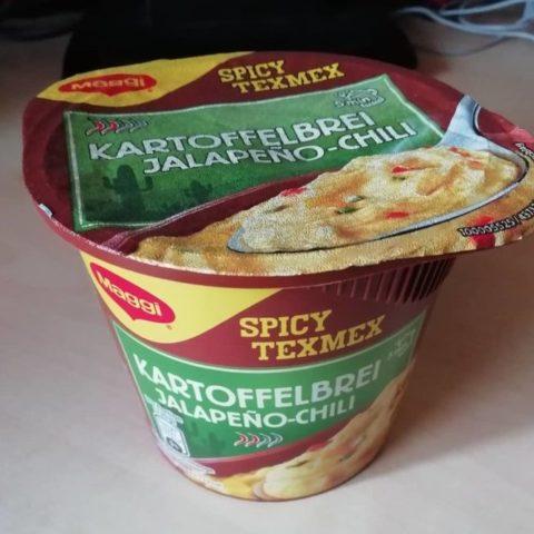 """#1586: Maggi """"Spicy Texmex Kartoffelbrei Jalapeño-Chili"""""""