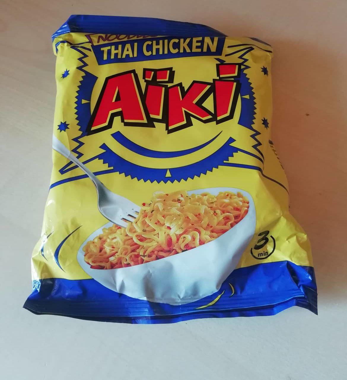 """#1636: Aïki """"Noodles Thai Chicken"""""""