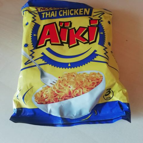 "#1636: Aïki ""Noodles Thai Chicken"""