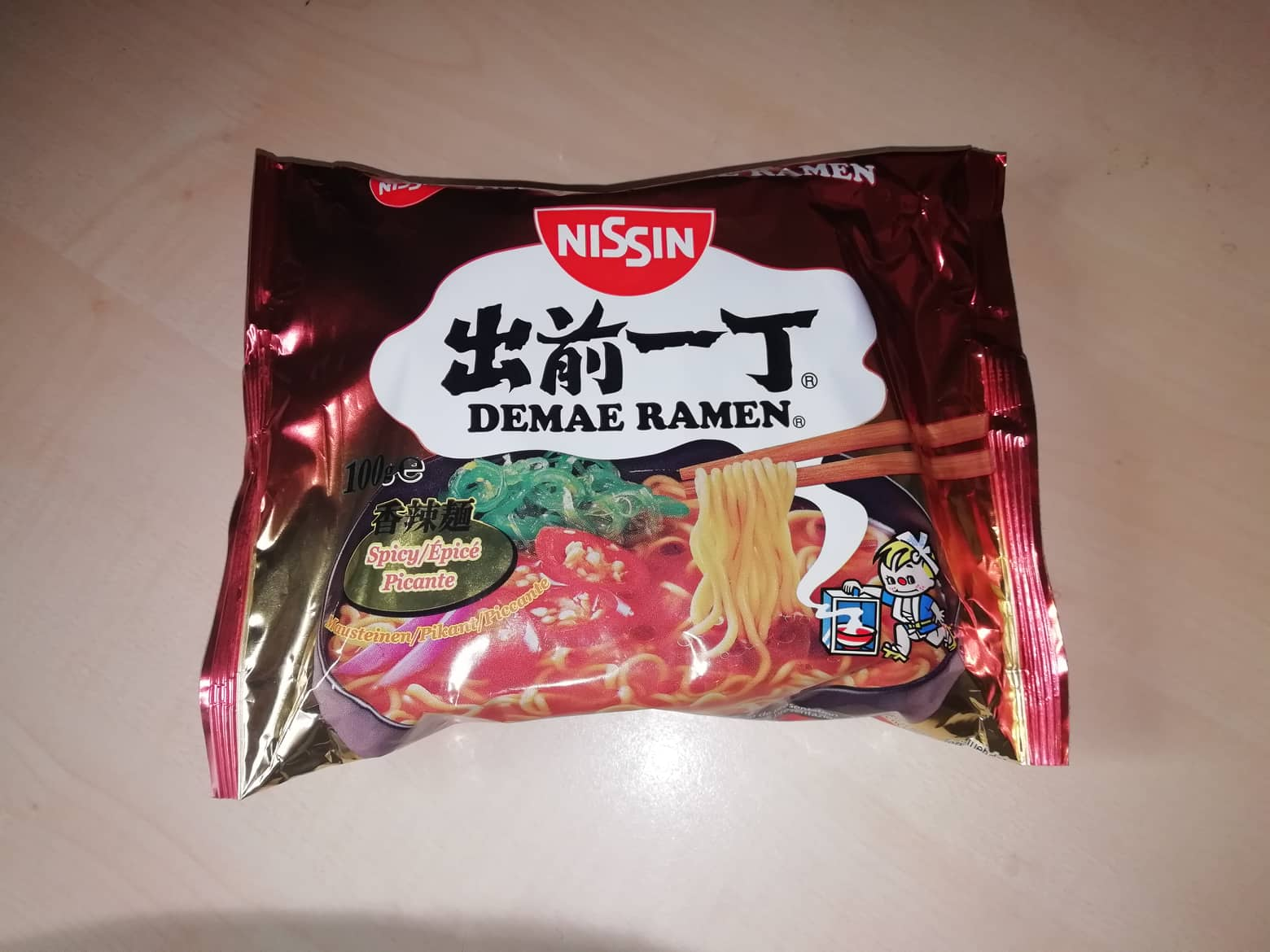 "#1593: Nissin Demae Ramen ""Spicy"" (2019)"