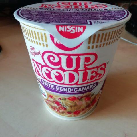 """#1596: Nissin Cup Noodles """"Ente"""" (2019)"""