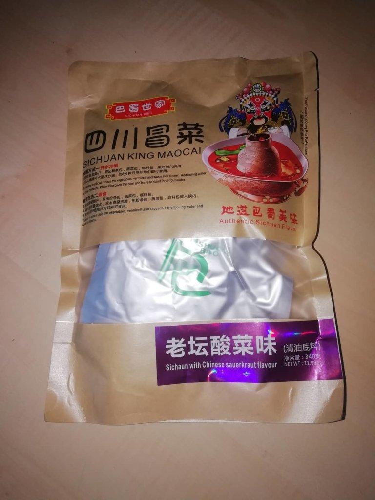 "#1604: Sichuan King Maocai ""Sichuan with Chinese Sauerkraut Flavour"""