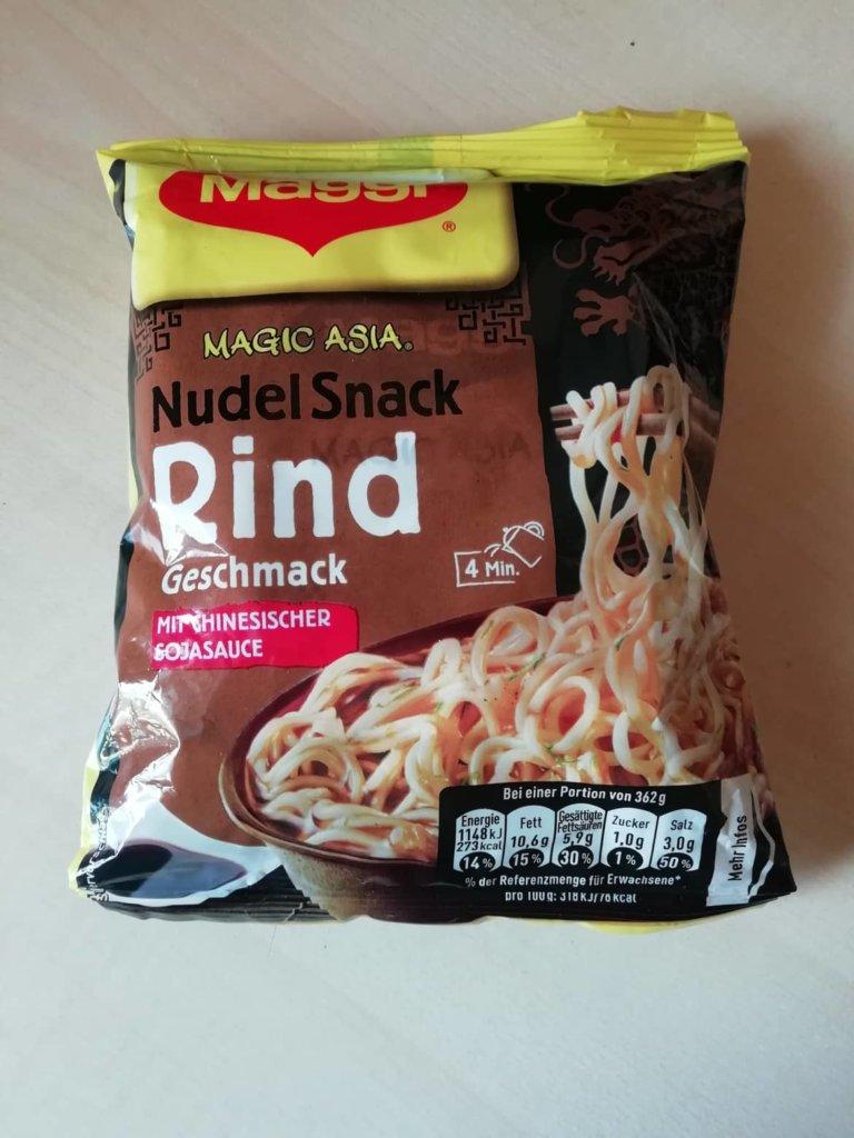 "#1611: Maggi Magic Asia ""Nudel Snack Rind Geschmack"" (2019)"