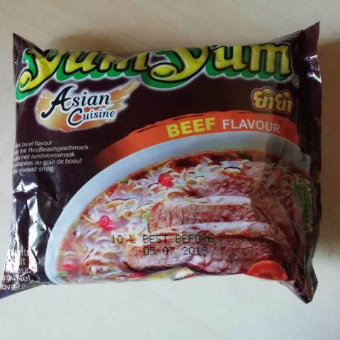 "#1610: YumYum Asian Cuisine ""Instant Noodles Beef Flavour"""