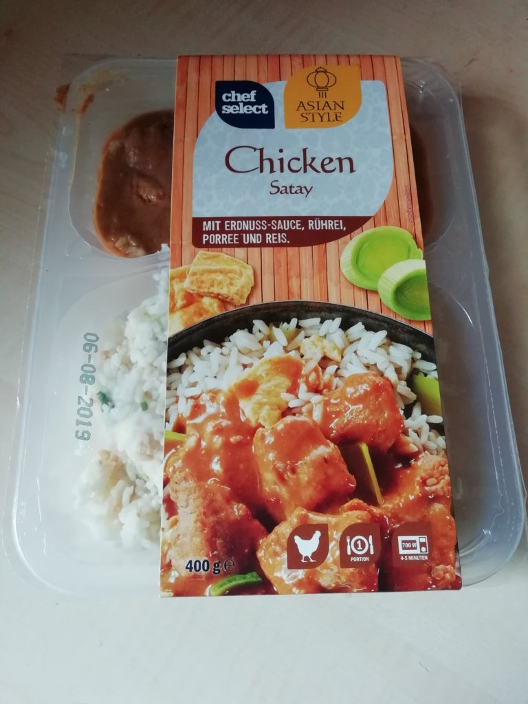 """#1628: chef select Asian Style """"Chicken Satay"""""""