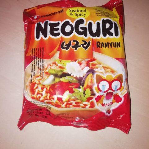 """#074: Nongshim """"Neoguri Ramyun Seafood & Spicy"""""""