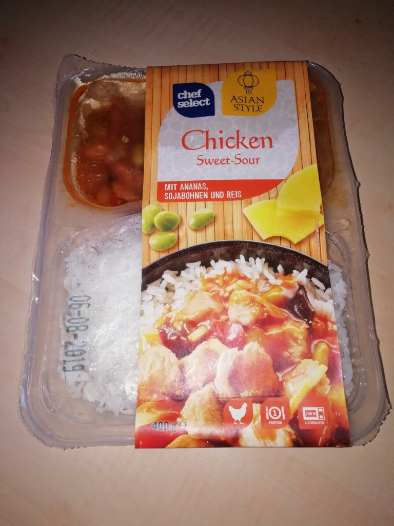 """#1627: chef select Asian Style """"Chicken Sweet-Sour"""""""
