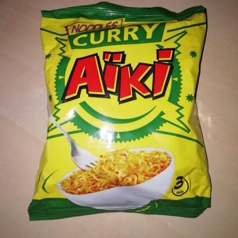 "#1619: Aïki ""Noodles Curry"""