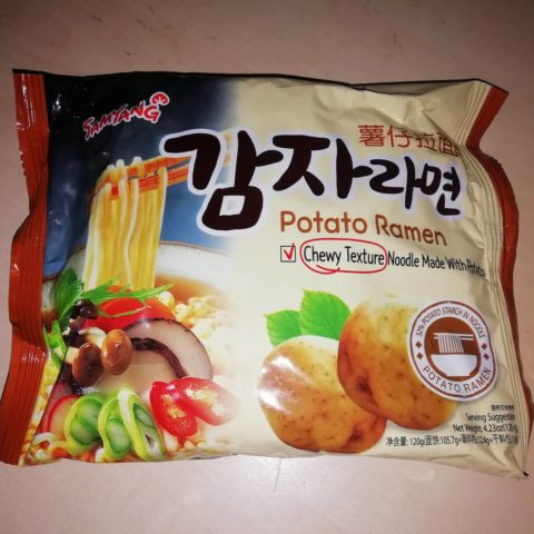 "#1624: Samyang ""Potato Ramen"""