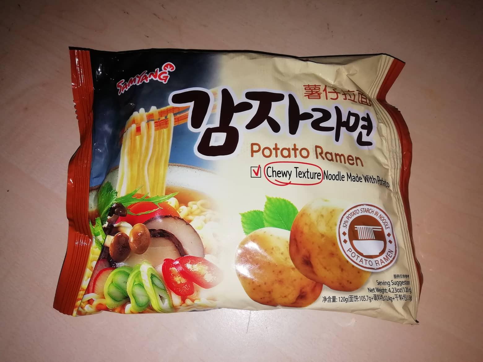 """#1624: Samyang """"Potato Ramen"""""""