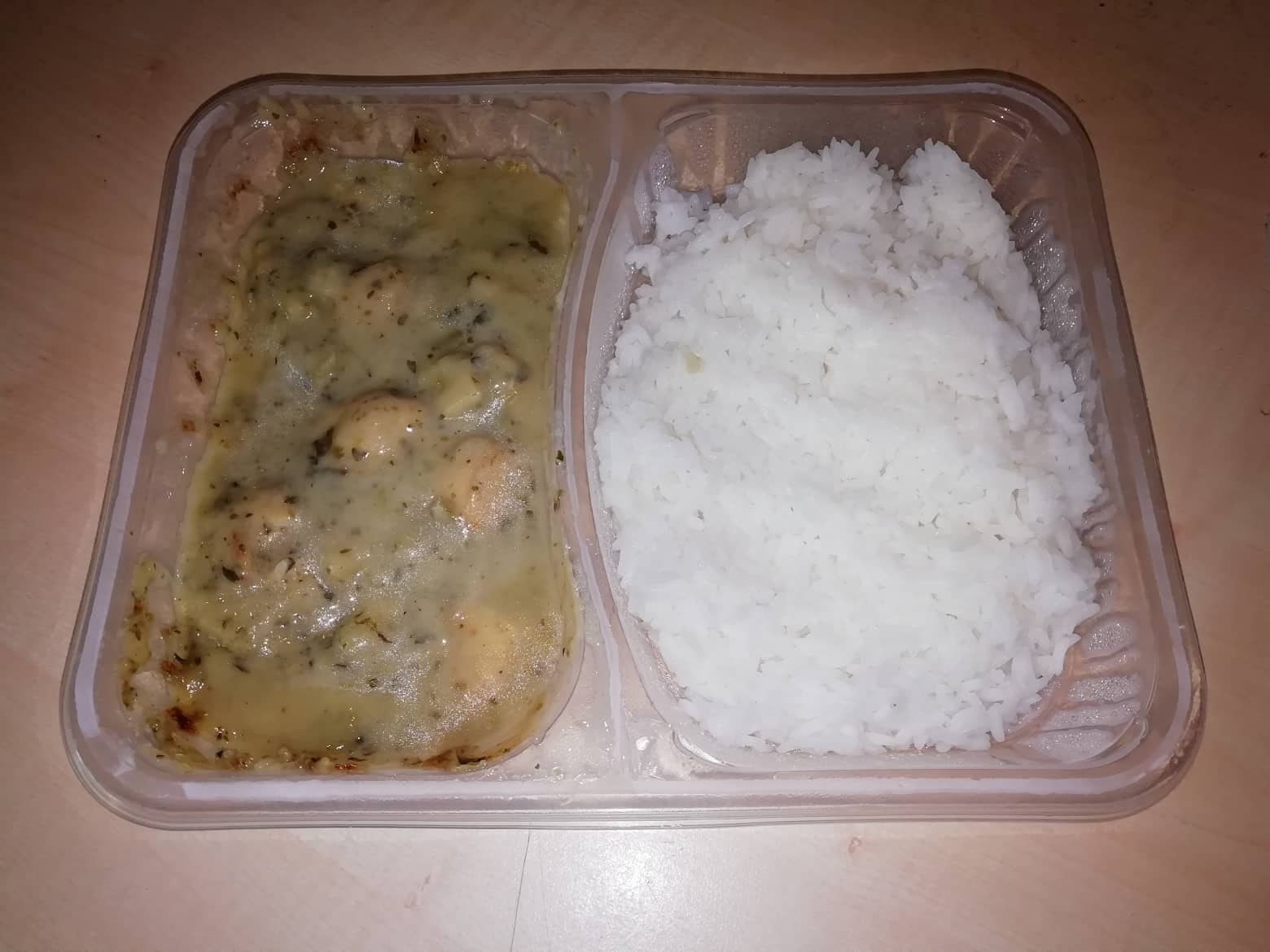 """#1629: chef select Asian Style """"Chicken Green Curry"""""""