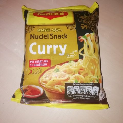 "#1630: Maggi Magic Asia ""Nudel Snack Curry"" (2019)"