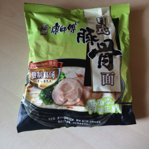 "#1643: Master Kong Premium ""Japanese Pork Ribs Noodle"""