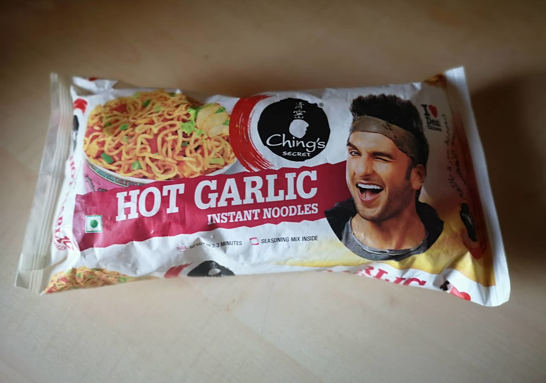 "#1651: Ching´s Secret ""Hot Garlic Instant Noodles"""