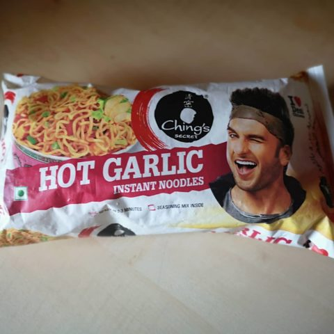 "#1651: Ching´s Secret ""Hot Garlic Instant Noodles"""