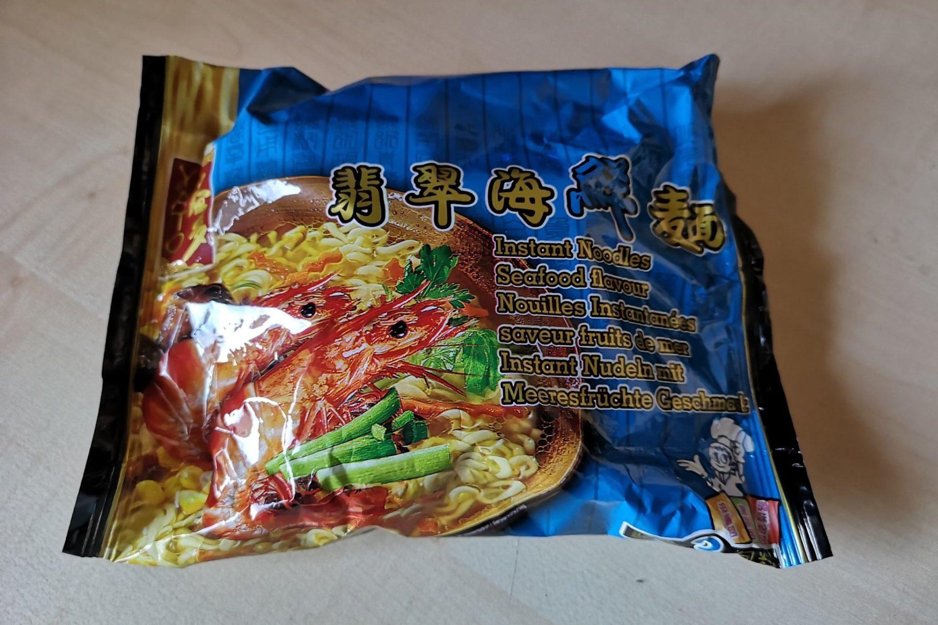 "#1659: Yato ""Instant Noodles Seafood Flavour"""