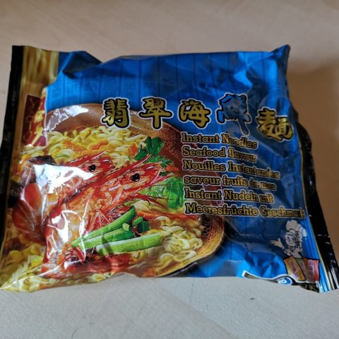 "#1659: Yato ""Instant Noodles Seafood Flavour"""