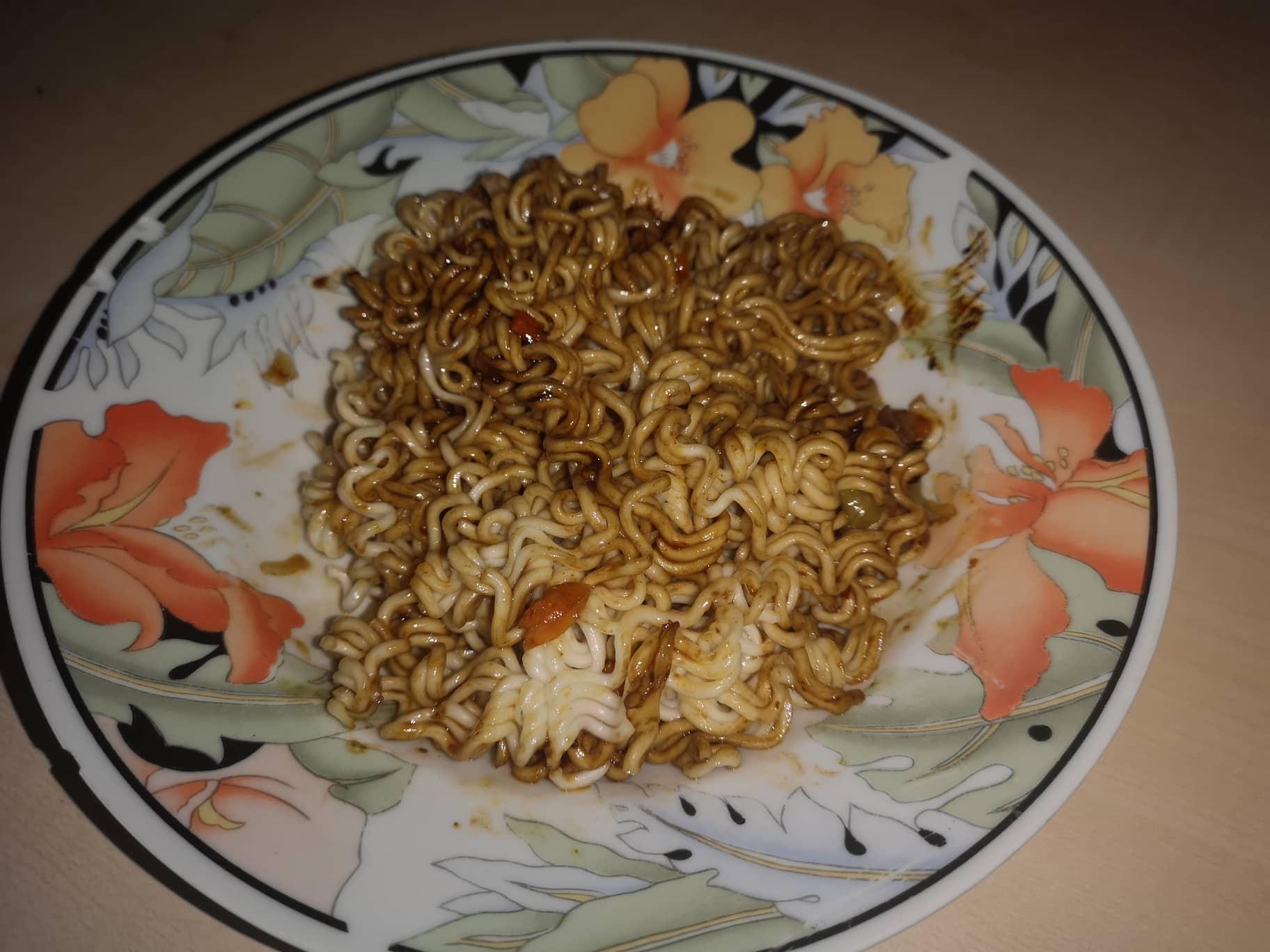 "#1644: Wu-Mu ""Dried Noodle with Jah Jan Flavor Sauce"""