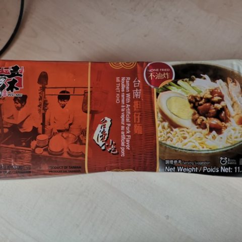 "#1655: Wu-Mu ""Ramen with Artificial Pork Flavor"""