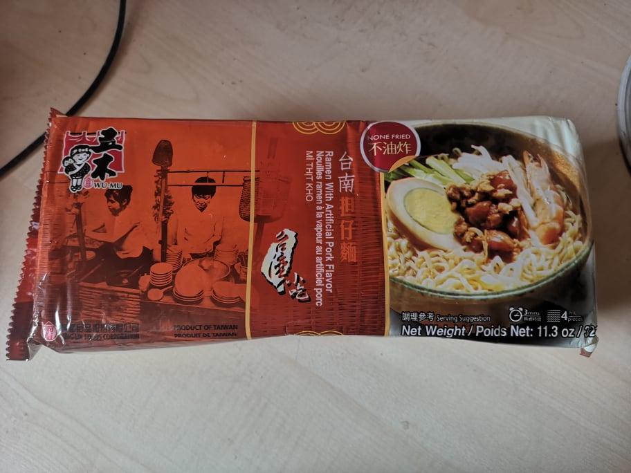"""#1655: Wu-Mu """"Ramen with Artificial Pork Flavor"""""""