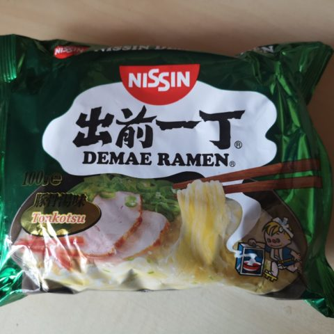 "#1663: Nissin ""Demae Ramen Tonkotsu"""