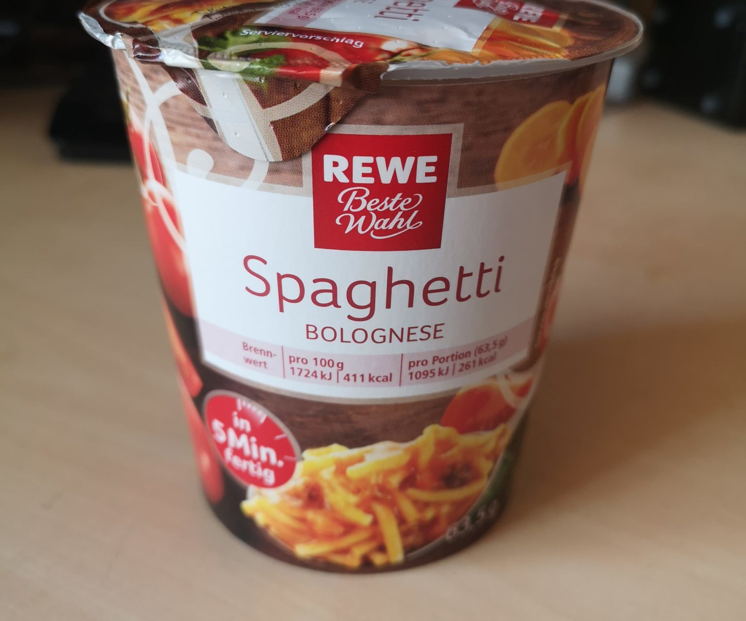 "#1662: REWE Beste Wahl ""Spaghetti Bolognese"""