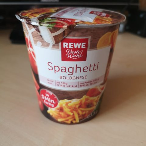 "#1662: REWE Beste Wahl ""Spaghetti Bolognese"""