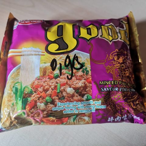 "#1668: Acecook good ""Minced Pork Flavour Instant Vermicelli"""
