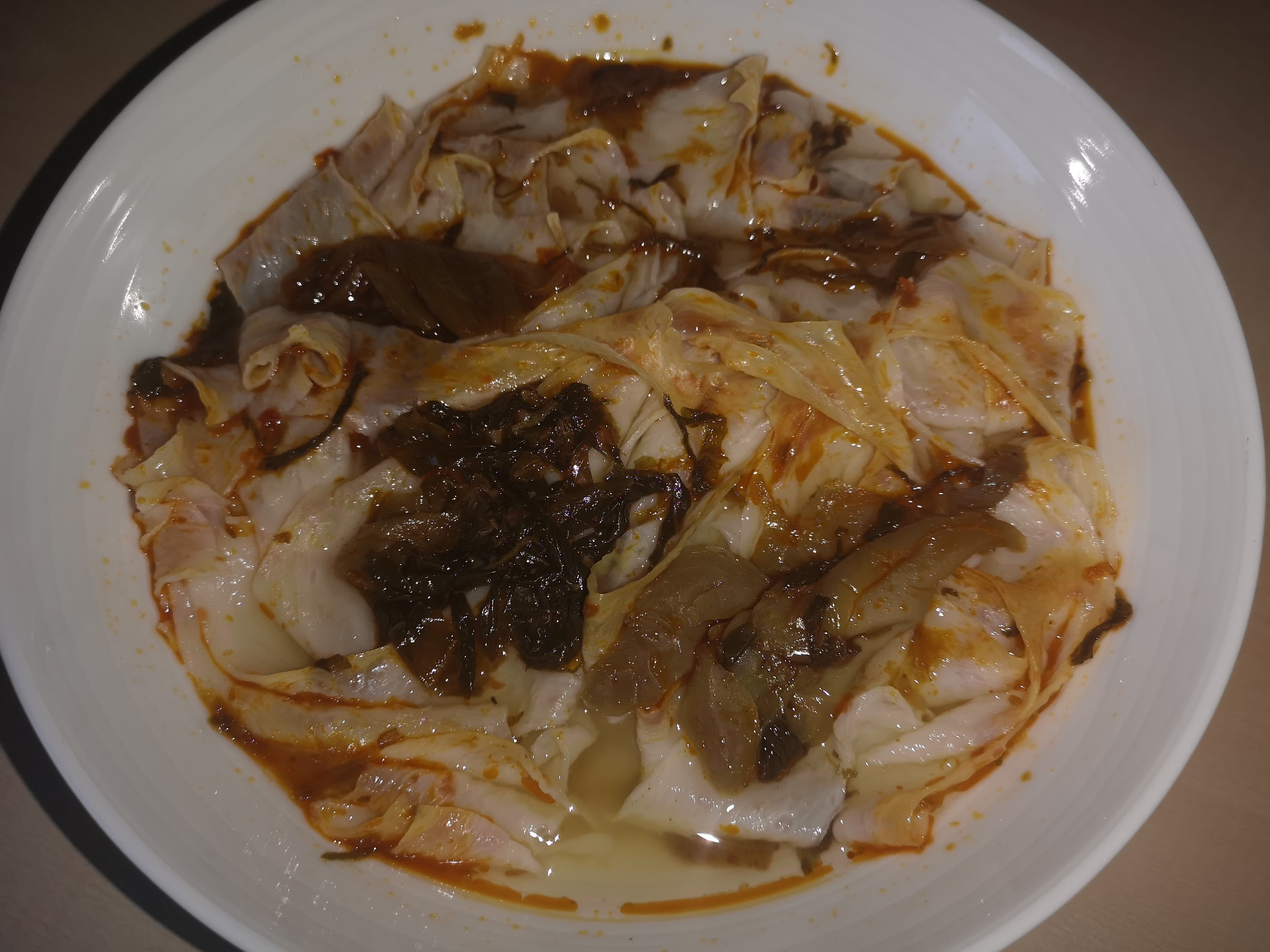 """#1667: Sichuan Baijia """"Broad Noodle Pickled Vegetable and Artificial Beef Flavor"""""""
