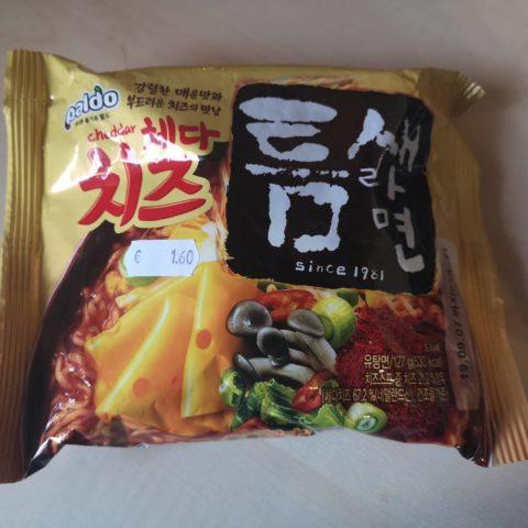 """#1679: Paldo """"Teumsae Cheddar Cheese Ramyun"""""""