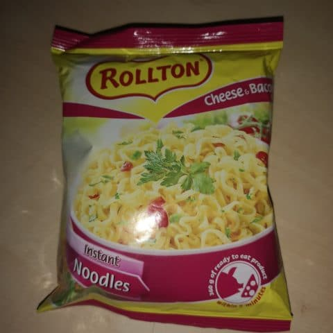 "#742: Rollton Instant Noodles ""Cheese & Bacon Flavour"""