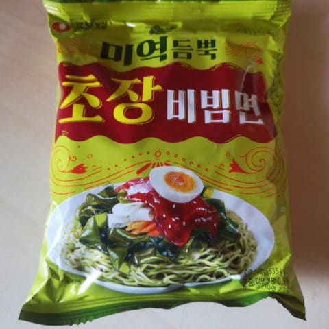 "#1692: Nongshim ""Sea Mustard Bibimmyun"""